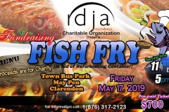 Fundraise Fish Fry 20th May 2019