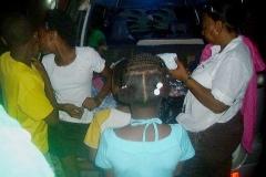 DownTown Kingston Distributing of Donations